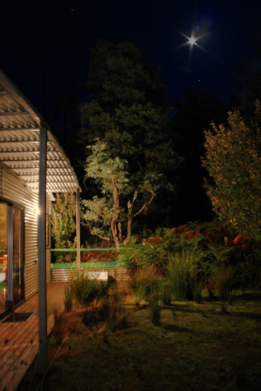 Supermoon at Huon Bush Retreats, Tasmania, Australia